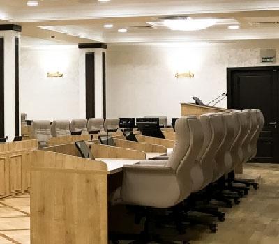 Новый зал заседаний Екатеринбургской городской Думы